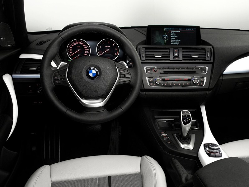 салон BMW 1 series, поколение F20