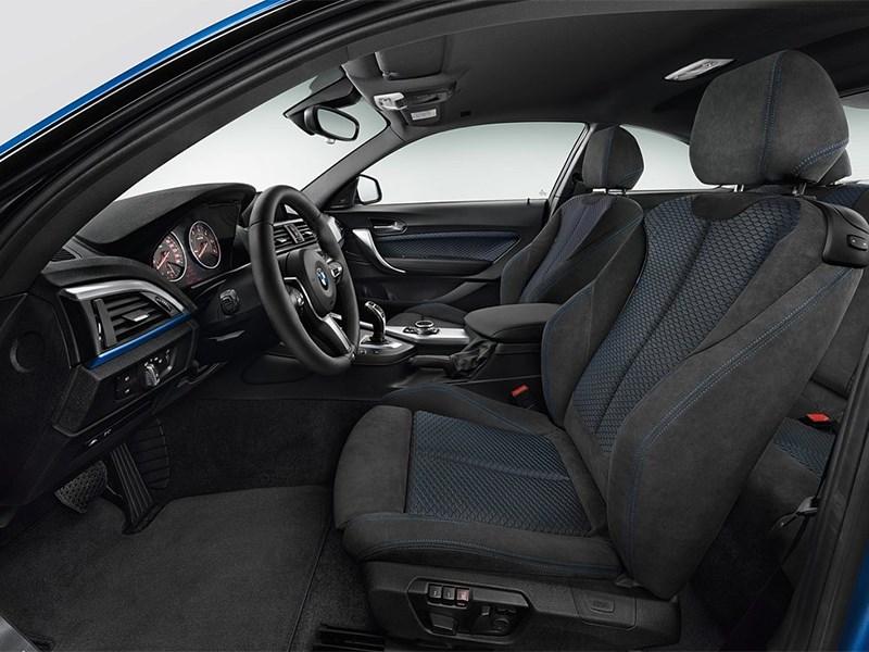 салон BMW 2 Series F22 рестайлинг