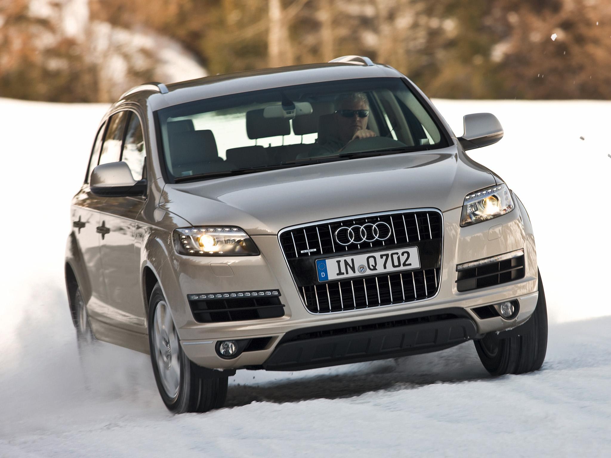 Audi Q7/Fahraufnahme