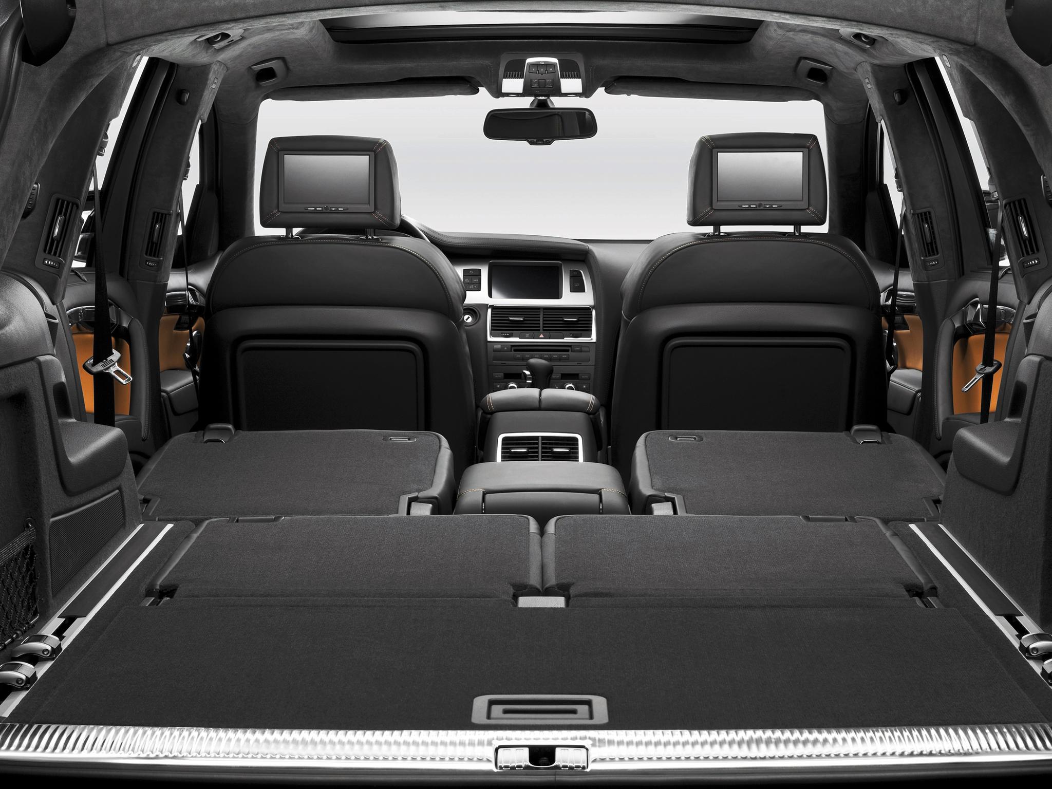 Audi Q7 1 поколение багажник