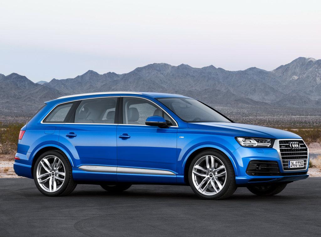 Audi Q7 2 поколене фото и описание модели