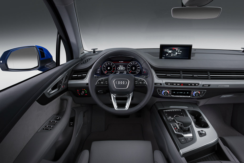 Audi Q7 2 салон