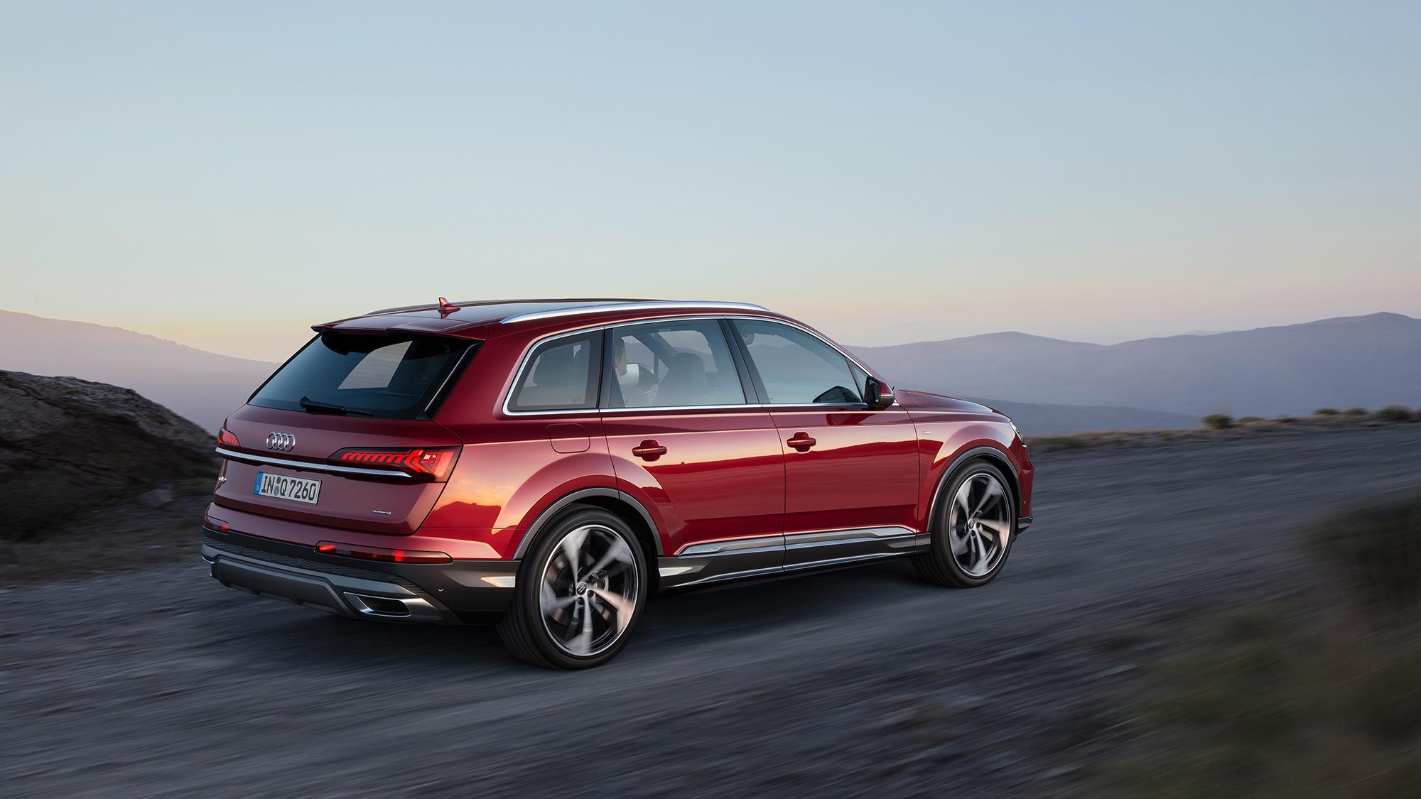 Audi Q7 3, описание модели