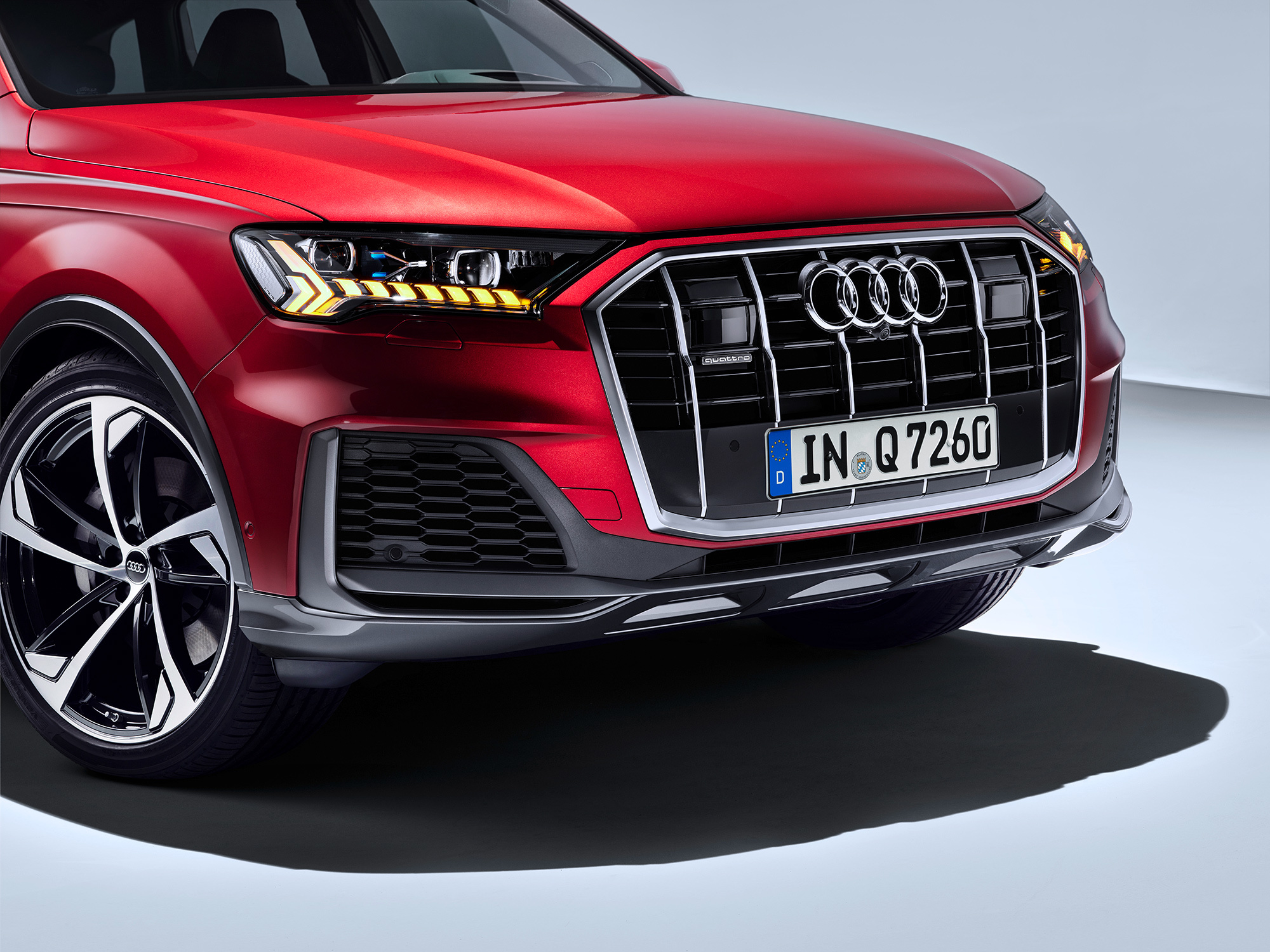Audi Q7 3, технические характеристики, фото и описание модели