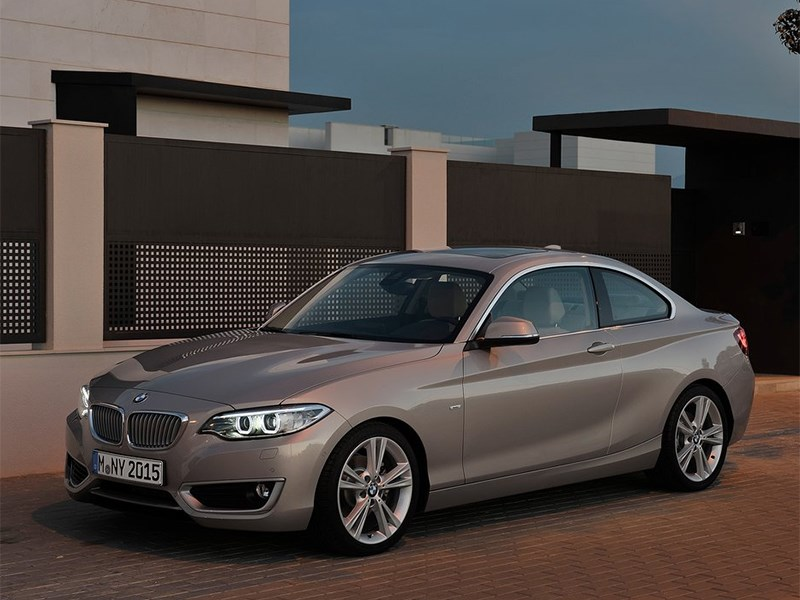 BMW 2 Series F22 рестайлинг