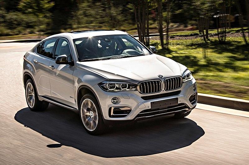BMW X6 фото интерьера и экстерьера