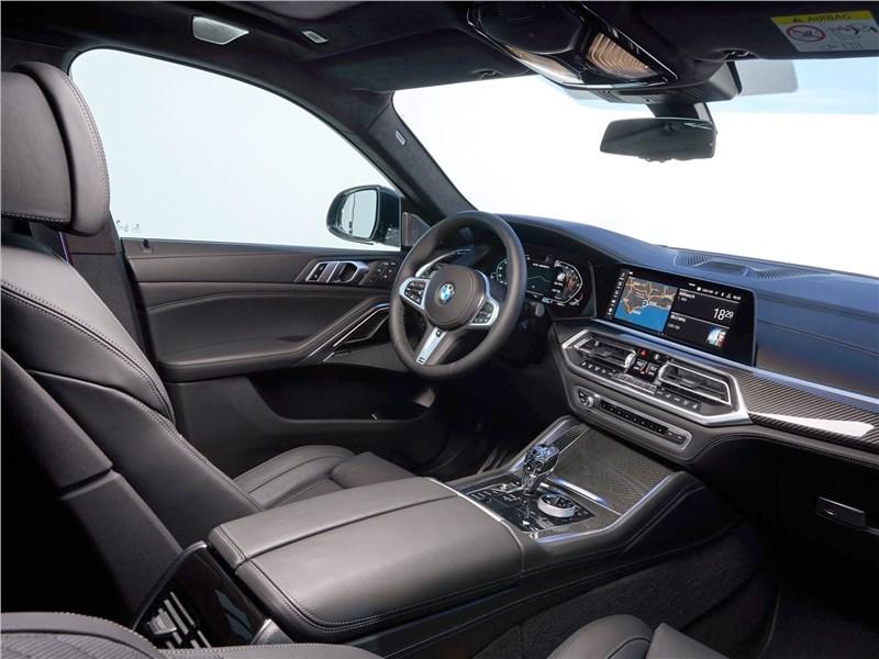 BMW X6 фото салона