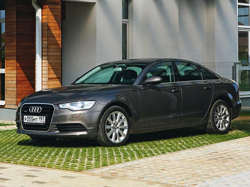 Audi A6 C7 фото TFSI
