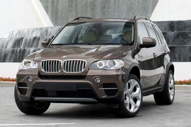 BMW X5 e70 фото